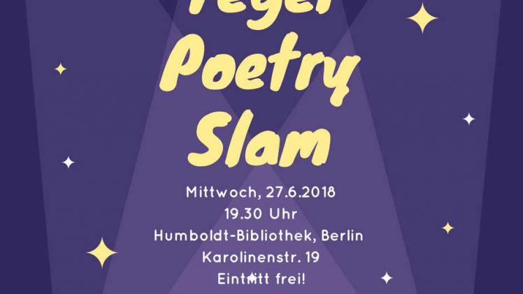 Tegel Poetry Slam