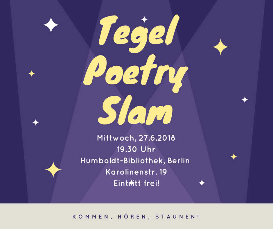 Tegel Poetry Slam