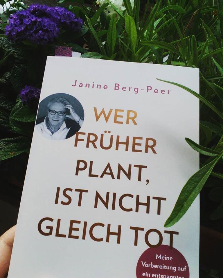 Janine Berg-Peer: Wer früher plant ist nicht gleich tot